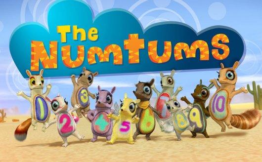《数字虫Numtums全1-3季》英文版 BBC动画数学启蒙AVI 百度云网盘下载