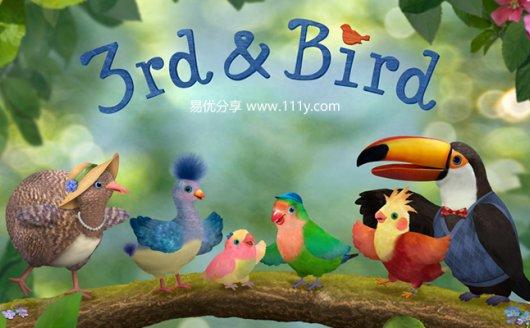 《小鸟三号3rd and Bird第1&2季全50集》英文版 爱鸟生活记 百度云网盘下载