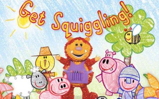 《彩色乐园Get Squiggling》第1-3季 英文版 涂鸦宝宝绘画课AVI 百度云网盘下载