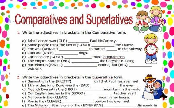 《9份形容词语法专项作业纸》Word文档英文练习册 百度云网盘下载