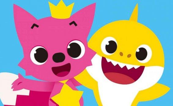 《PINKFONG碰碰狐原版英文儿歌》英文版/中文版 1600集 MP4视频 百度云网盘下载