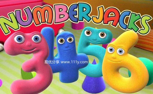 《数字小精灵Numberjacks第一季&第二季英文版》数学启蒙视频音频 百度网盘下载