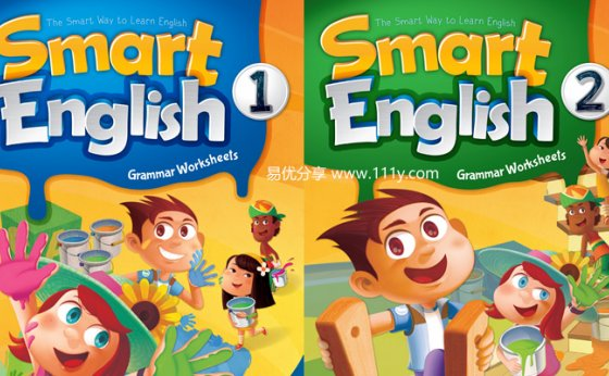 《Smart English Grammar》1-6级别词汇+句型+语法PDF 百度网盘下载