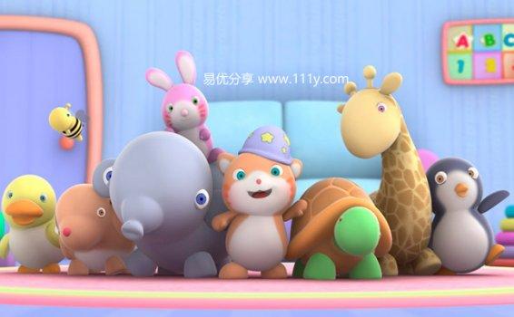 《Looi的动物朋友们共29集》无对白适合婴幼早教MP4视频 百度网盘下载