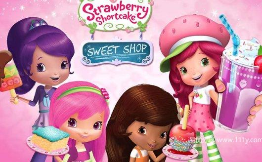 草莓女孩 Strawberry Shortcake 第1-2季+特别季动画39集 百度网盘下载