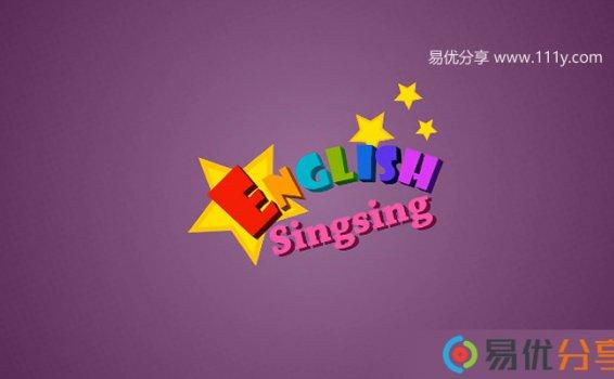 《English Singsing》美国卡通英语启蒙视频 共34集 百度网盘下载