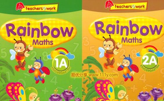 《SAP Rainbow新加坡彩虹练习册》数学英语科学 百度网盘下载