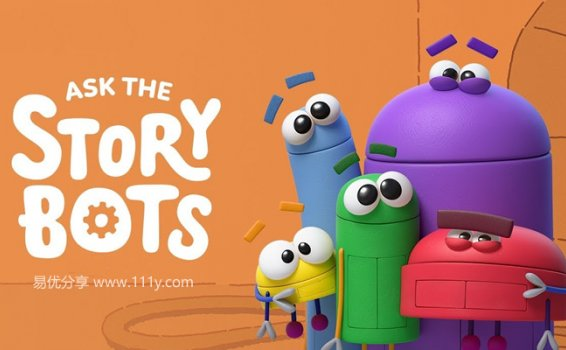 《StoryBots A-Z 全26集》英文字母歌MP4视频动画  百度网盘下载