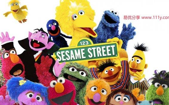 《芝麻街Sesame Street》英文版 17个英语动画视频 百度网盘下载