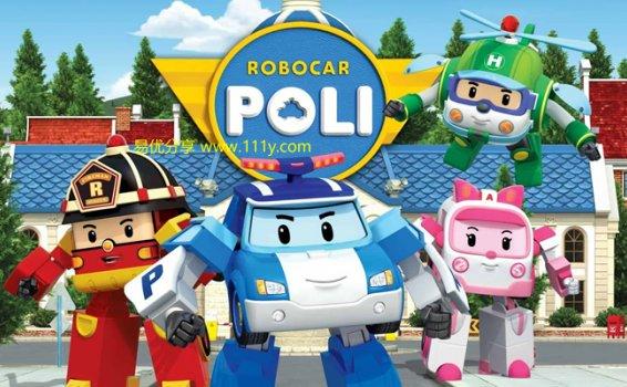《变形警车珀利ROBOCAR POLI》第二季全26集英文版 百度网盘下载