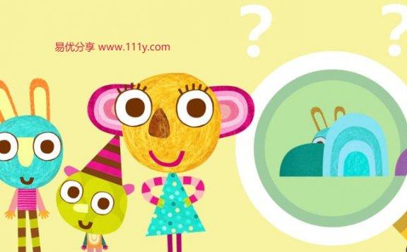 《Olobob Top幼儿动画》第一季 英文动画 mp4格式 百度网盘