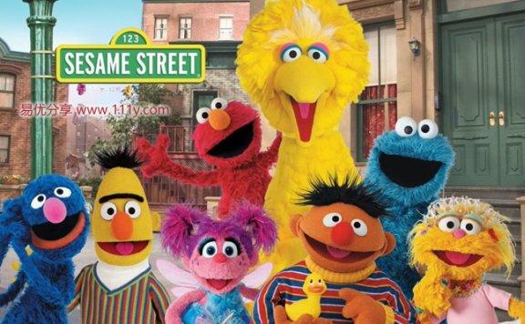 《芝麻街 Sesame Street》8DVD 中英双语字幕 百度网盘下载