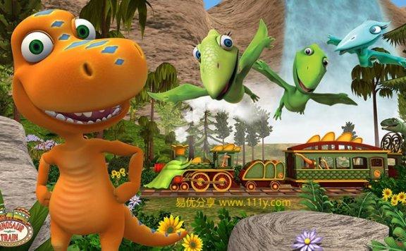 《恐龙列车Dinosaur Train》英文版第二季20集+1部电影 百度网盘下载