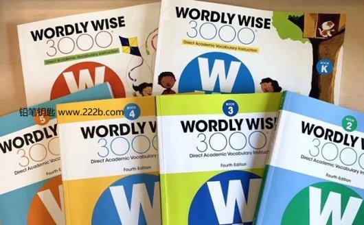 《Wordly Wise 3000核心词汇全套教材》练习册PDF+音频MP3 百度网盘下载