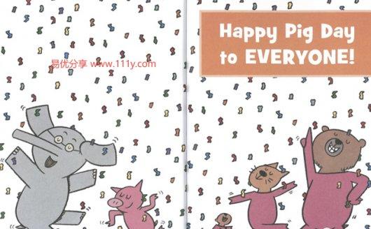 《小猪小象 An Elephant and Piggie 》23本含音频 百度网盘下载