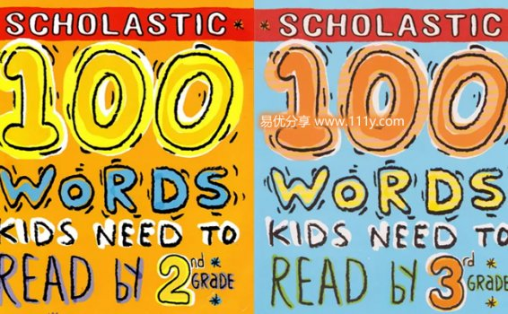 《100 Words Kids Need to Read&Know》2rd 3rd 4rd 5rd练习册 百度网盘下载