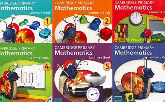 《Cambridge Primary Mathematics learner's book G1-G6》剑桥小学数学 百度网盘下载