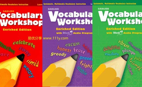 《Vocabulary Workshop G1-5+A-H全13册》小学中学英语教材 百度网盘下载