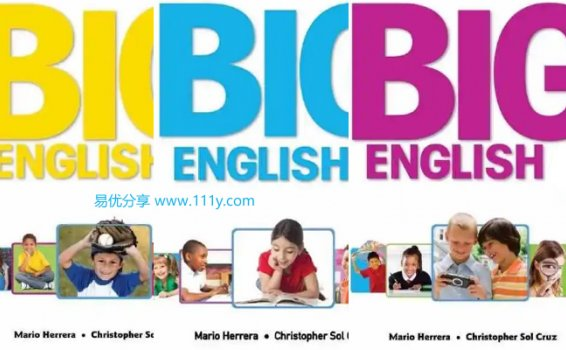 《培生朗文Big English 1-6全套教材》PDF+音频MP3+视频MP4 百度网盘下载