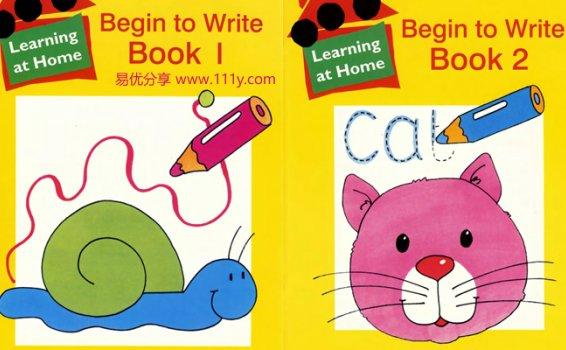 《Begin to Write Book》字母书写入门趣味练习册 百度网盘下载