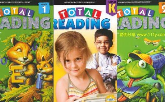 《Total Reading K-Grade2》全三册 培养孩子阅读能力 百度网盘下载