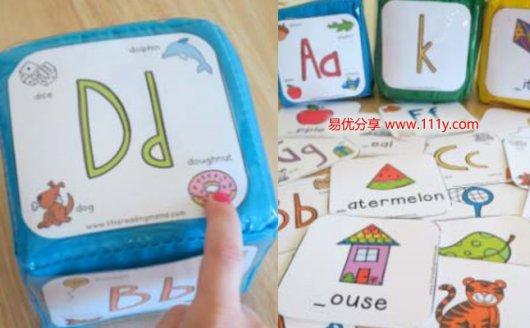 《Alphabet Phonics Cubes》字母卡片教具游戏学习两不误 百度网盘下载