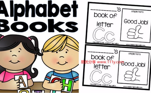 《Alphabet-Books字母翻翻书》英语启蒙练习动手能力培养 百度网盘下载