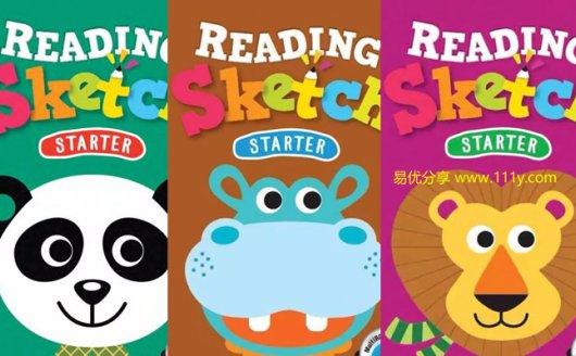 《Reading Sketch Start》1-3全三册 幼儿英文阅读教材PDF 百度网盘下载