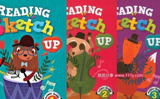 《Reading Sketch Up》1-3全三册 教材+练习册PDF+音频MP3 百度网盘下载