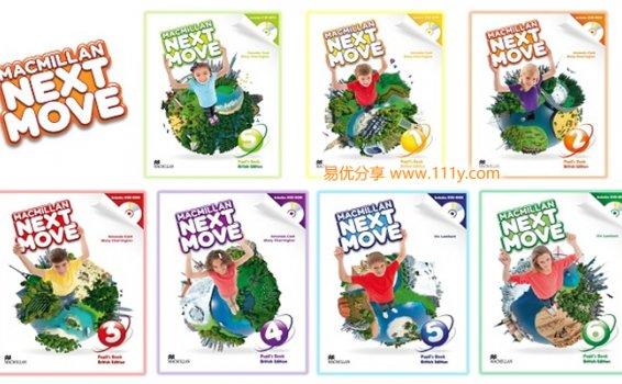 《麦克米伦Next Move》少儿英语教材0-6学生用书+配套练习册 百度网盘下载