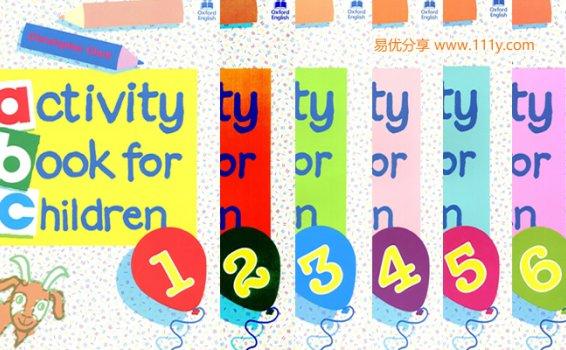 《Oxford activity book for children》1-6语法练习词汇学习PDF 百度网盘下载