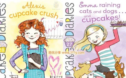 《Cupcake Diaries》25册原版英文故事英语阅读PDF 百度云网盘下载