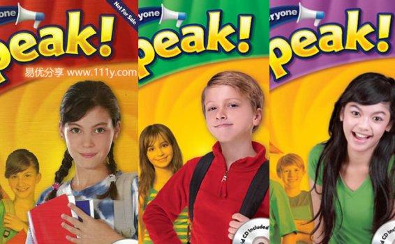 《Everyone Speak!青少年版口语专项教材》共三册学生教师用书 百度网盘下载