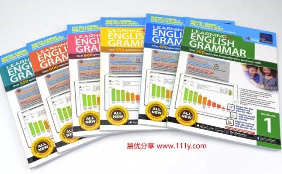 《Sap Learning Grammar》L1-L6新加坡语法练习册高清PDF 百度网盘下载