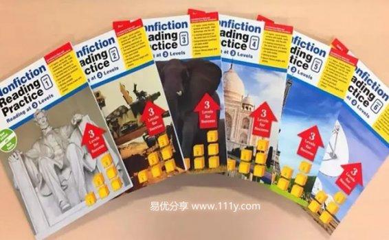 《Nonfiction Reading Practice》G1-G6阅读强化练习册PDF 百度网盘下载