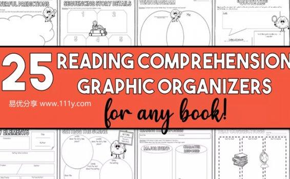 《Reading Response》25张阅读反馈图帮助孩子英文高效阅读 百度网盘下载