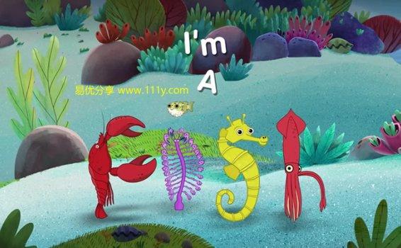 《I'm a fish我是一条鱼》52集英文版鱼类知识MP4动画视频 百度网盘下载