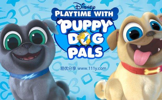 《汪汪一对宝Puppy Dog Pals》第一季英文版25集MP4动画视频 百度网盘下载