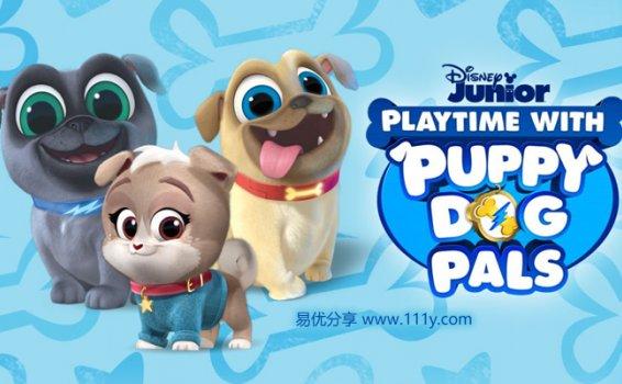 《汪汪一对宝Puppy Dog Pals》第二季英文版30集MP4动画视频 百度网盘下载