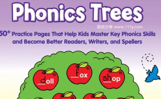 《Phonics Trees》学乐自然拼读高频词组合练习册PDF 百度网盘下载