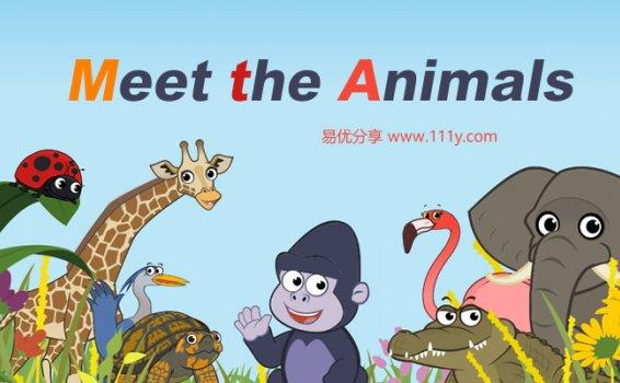 《Meet the Animals》62集音视频故事书MP4+MP3+PDF 百度网盘下载