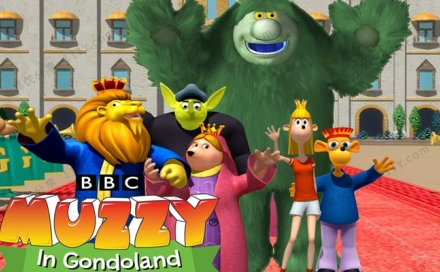 《玛泽的故事Big Muzzy》英文版动画视频词汇音频图卡互动软件 百度网盘下载