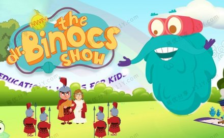 《Dr. Binocs Show百诺博士秀》169集科普知识MP4动画视频 百度网盘下载