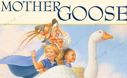 《Mother Goose English Nursery Rhymes》83首鹅妈妈童谣 百度网盘下载