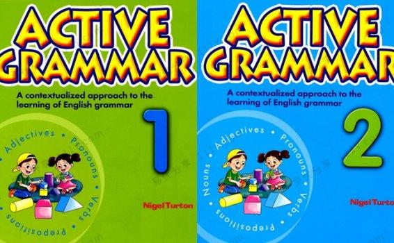 《Active Grammar》1&2册 零基础初级语法教材PDF 百度网盘下载