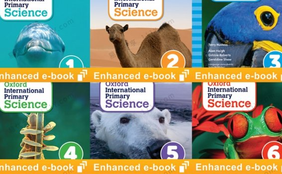 《International Primary Science》牛津国际小学自然科学1-6 百度网盘下载