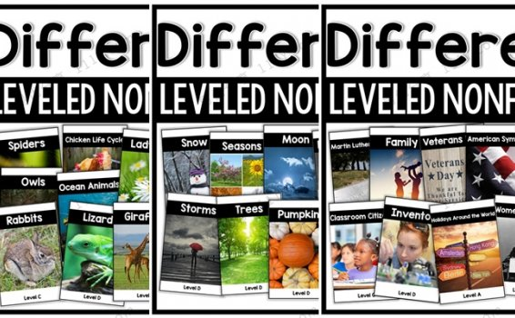 《Differentiated Leveled Nonfiction》三册分级阅读英文练习册 百度网盘下载