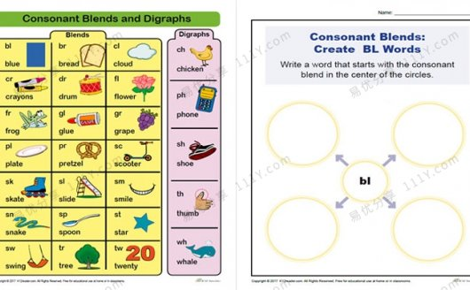《Vocabulary Phonics》词汇练习自然拼读作业纸PDF 百度网盘下载
