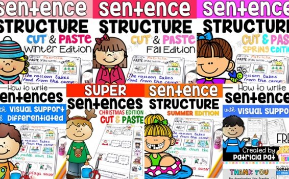 《How to Write Sentences Bundle》英文句型写作全套7册练习册 百度网盘下载