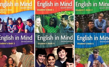 《English in Mind》第二版0-5级 学生教师用书音频练习册PDF 百度网盘下载